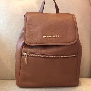 NWT Michael Kors Leather Rachel Acorn Backpack